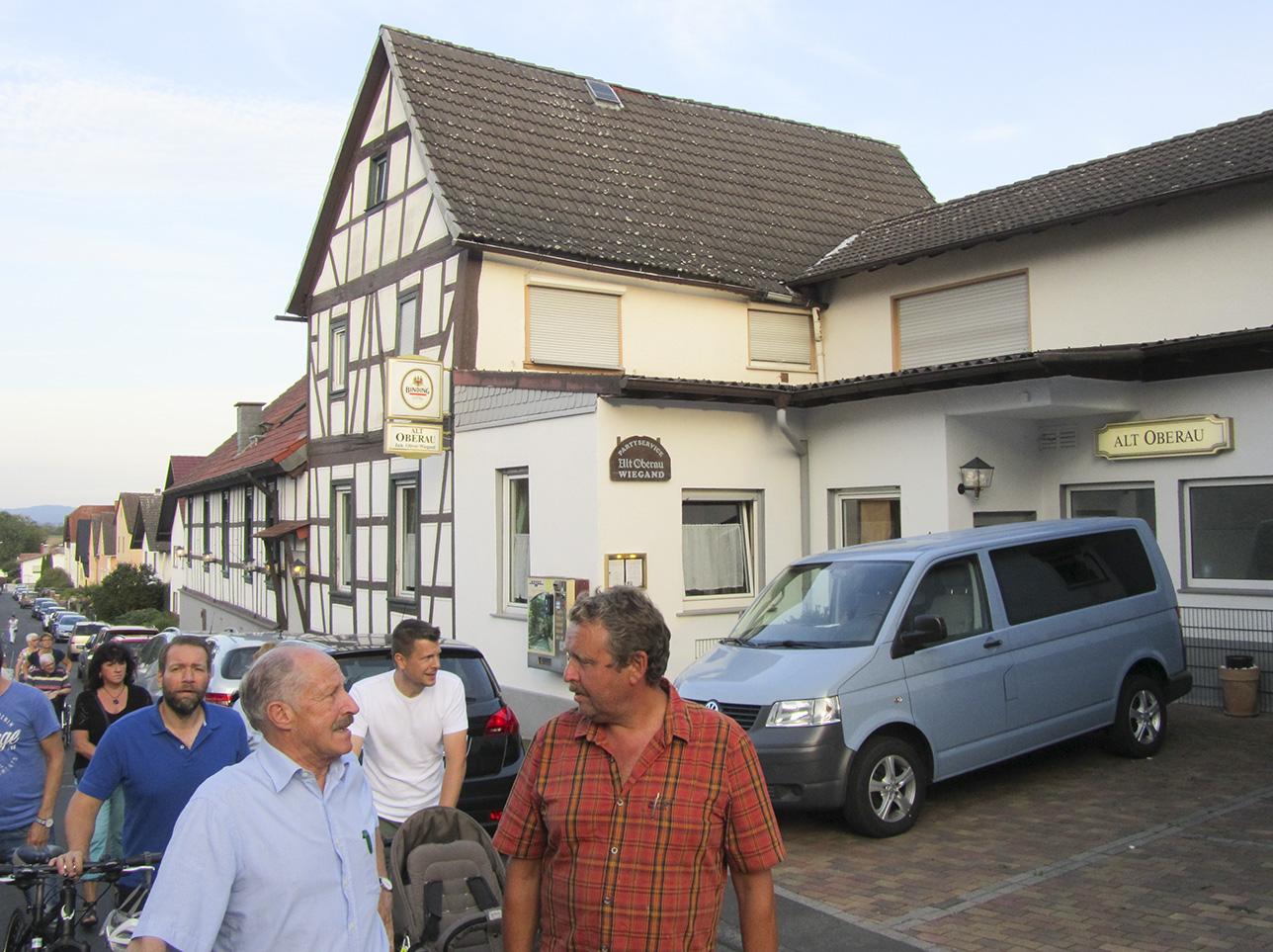 """Die Gaststätte """"Alt Oberau"""" Familie Wiegand"""