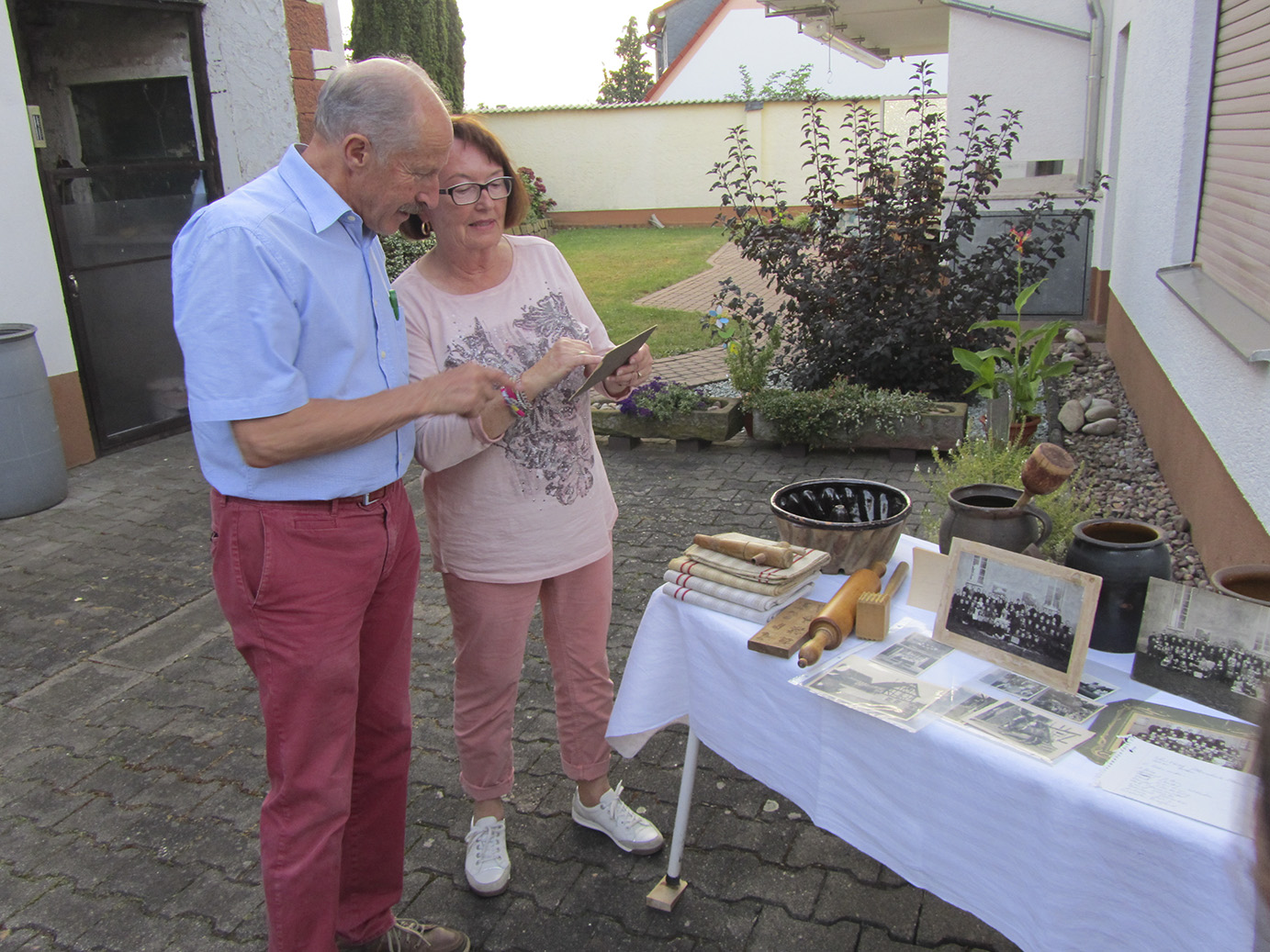 Hiltrud Duttiné präsentierte ihre Sammlung