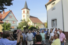 Blick auf unsere Kirche